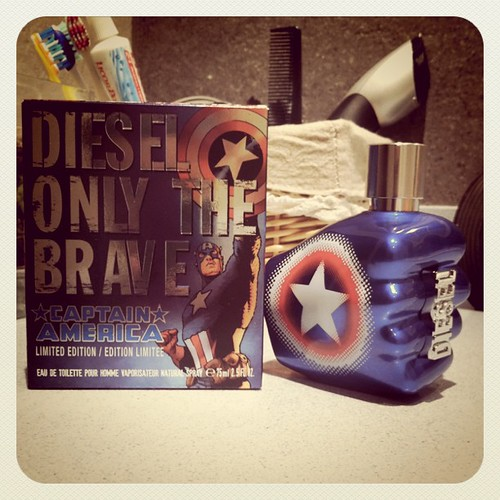 Diesel Captain America. En breve post con el unboxing jejeje
