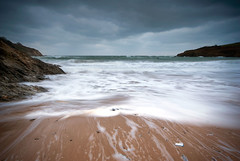 Stormy afternoon (Olbell) Tags: uk sunset england seascape beach water clouds landscape cornwall potofgold sigma1020 sonyalpha100
