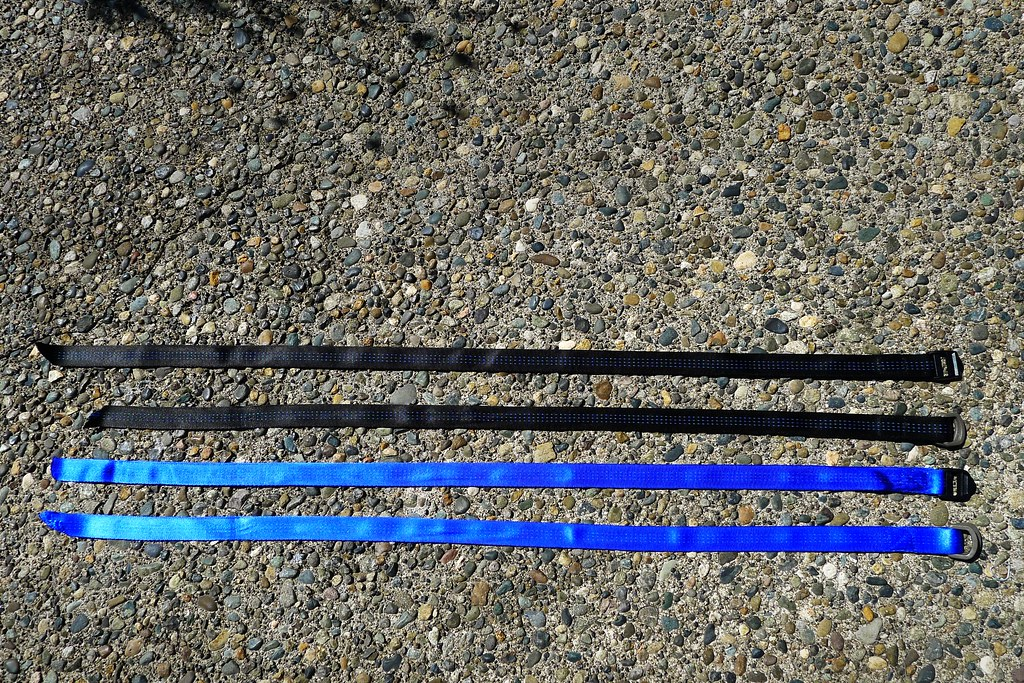 DIY Tubular Webbing Belts