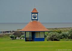 Frinton Clock Tower shelter (mariafowler.co.uk) Tags: tower clock esplanade shelter frinton greensward