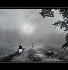 He is leaving (h.koppdelaney) Tags: life art leave loss digital photoshop leaving sadness sad symbol picture philosophy divorce behind metaphor left departure psyche symbolism sentimental psychology archetype pessimism trauer weltschmerz trennung traurigkeit verlust trennungsschmerz koppdelaney truthandillusion flickrstruereflection1