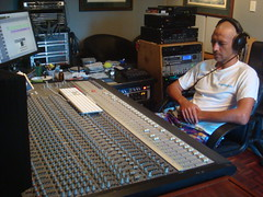 Recording Session, Pegasus Studios, Cairns, Australia