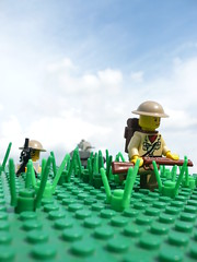Battle of France (Rebla) Tags: france lego wwii battle ww2 britisch brengun brickarms