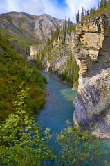 Sky, Rock, Water 1 (thefisch1) Tags: cliff face rock vertical alaska nikon colorful calendar creative canyon majestic steep brooksrange greatland