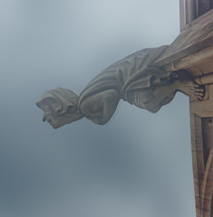 Ulm Cathedral - Germany (RJ Swanson) Tags: film analog germany deutschland cathedral kodak gargoyle ulm münster grotesque instamatic ulmer rjswanson