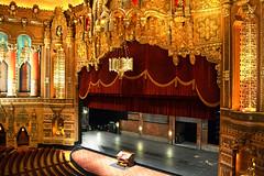 Fox Theatre's Stage (warmheartcold) Tags: architecture michigan stage detroit organ auditorium foxtheatre theatredistrict chowardcrane nationalhistoriclandmark nationalregisterofhistoricplaces preservationwayne theatredistricttour