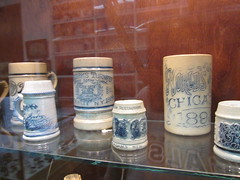 National Bottle Museum - Ballston Spa, New York (Dougtone) Tags: newyork glass bottle antique saratoga upstate mug stein ballstonspa nationalbottlemuseum 080711