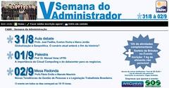 """Palestra """"A importncia do CLOUD COMPUTING para os Negcios""""_Natal (Galeria de Manoel Veras) Tags: do na v semana farn administrador"""