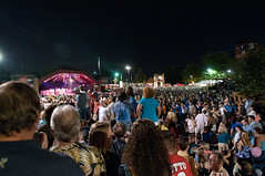 concert crowd - taste of Blue Ash