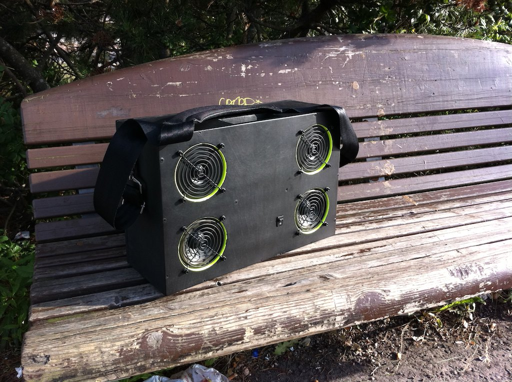 how to build a portable boombox