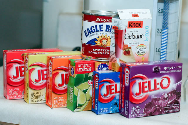 Jello 7 Layer Jello