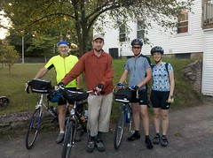 Group before the ride started