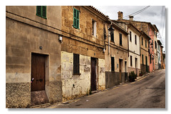 Alcudia Old Town (amber654) Tags: road street travel houses history town spain nikon rustic espana 1855 oldtown mallorca majorca alcudia d3100