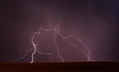 3A (Kai Eiselein) Tags: sunset storm rain weather night clouds danger dark dangerous farm sony farmland idaho electricity thunderstorm lightning alpha thunderbolt palouse a700