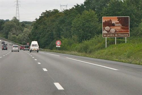 L'image du bord des routes
