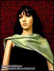 IMG_0005 (Shaylati) Tags: hijab shayla handpaintedsilk ribbonnecklace collarnecklace