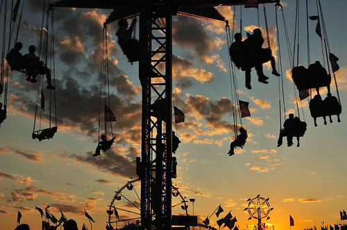MN State Fair 2011 Sunset