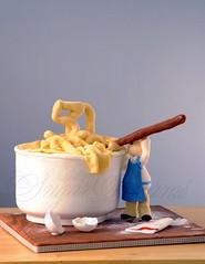 Happy baking (Betty´s Sugar Dreams) Tags: cake germany baking hamburg geburtstag betty kuchen torte backen torten gumpaste sugarpaste modellieren bettinaschliephakeburchardt bettyssugardreams figurfondant