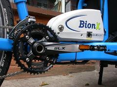 Bullitt Bluebird '71 with BionX (Splendid Cycles) Tags: bike electric oregon portland cargo assist splendidcycles bionxbullitt