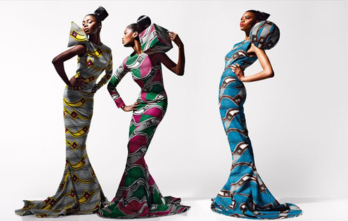 Dazzling Graphics' fabric collection from Vlisco - 6