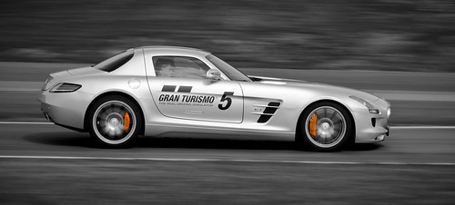 SLS AMG with GT5 branding
