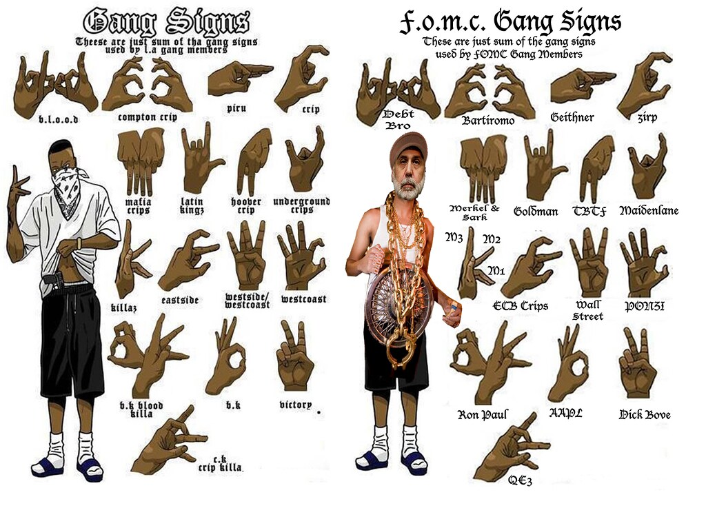 FOMC GANG SIGNS