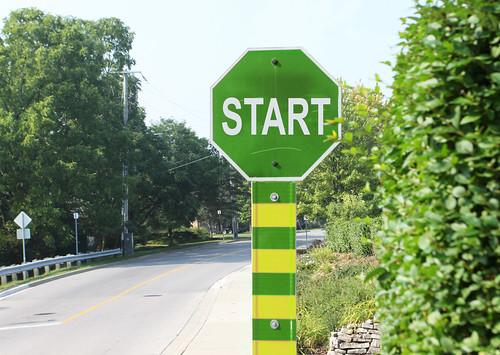 Start SIgn by Dan Zen, on Flickr