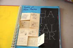 advertising notebook forms of mass media