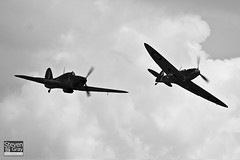 G-HURI - Z5140 - 72036 - Private - Hawker Hurricane Mk12A - 110710 - Duxford - Steven Gray - IMG_7093