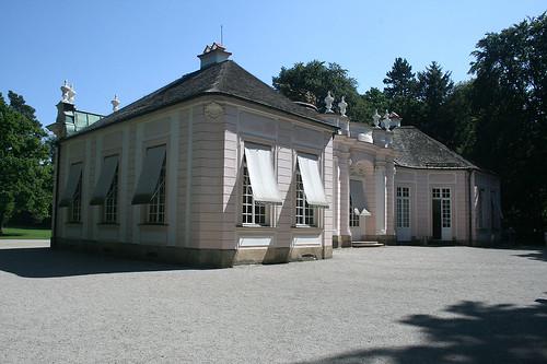 Amalienburg - Westansicht