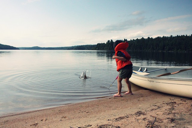 algonquin park (grand lake) camping - day 1