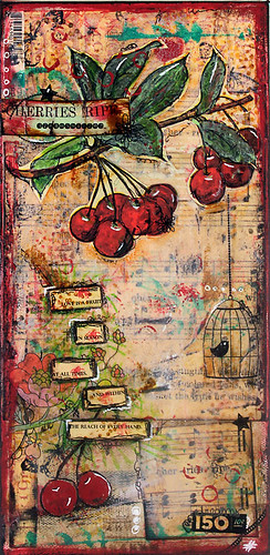 Cherries Ripe - Canvas
