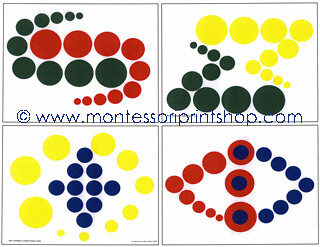 Knobless Cylinder Pattern Cards 2 (Image from Montessori Print Shop)