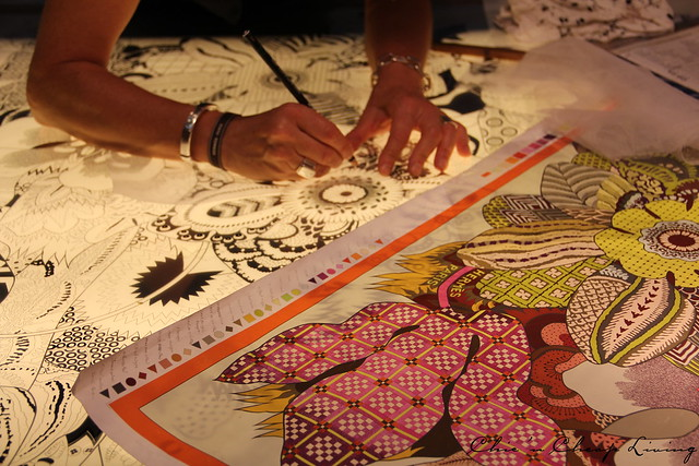 Hermes Festival des Metiers - engraver- by ChicnCheapLiving