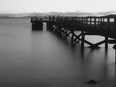 Bela Beach Pier - B&W Version (BK101) Tags: world white black sexy beautiful photography best photographs khan babar