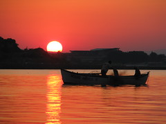 Bulgarian Sunset (Been Around) Tags: ocean travel sunset sea boot boat mar meer europa europe niceshot sonnenuntergang travellers eu barche more bulgaria sonne blacksea nesebar bul bulgarien 2011 nessebar blackseacoast 5photosaday chernomore  nesebur schwarzesmeer   onlyyourbestshots concordians thisphotorocks schwarzmeerkste worldtrekker expressyourselfaward flickrunitedaward bulgarianblackseacoast mygearandme bulgariansunset