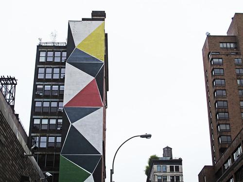 Mural near NYU