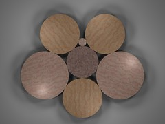 Integer Radii Circle Packing (fdecomite) Tags: circle packing math povray