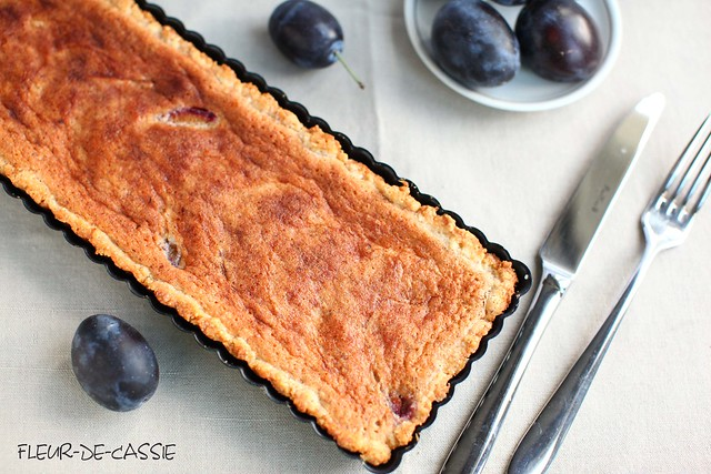сливовый тарт с франжипаном 1