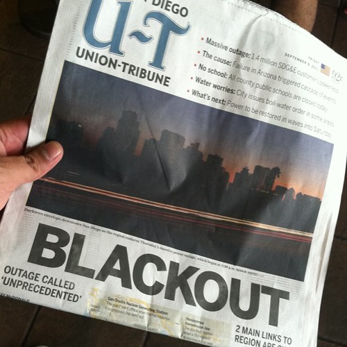 The Great San Diego BLACKOUT 2011!