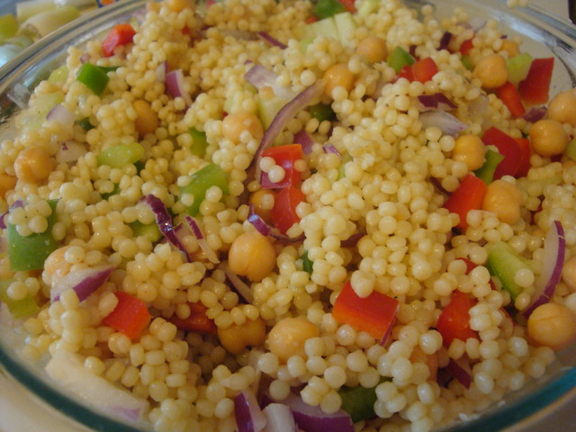 Old Bay Couscous Salad