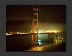 A Look Across (RZ68) Tags: bridge light mist tower film water misty fog night mediumformat reflections dark golden gate san francisco long exposure shadows south marin foggy trails velvia goldengatebridge goldengate headlands sutro 6x7 streaks provia presidio ggnra e100 rz68