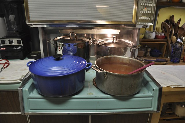 overwhelmed stove