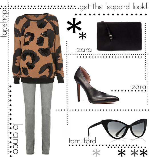 13 leopard look