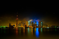 4AM at the Bund.jpg (allisterchiong) Tags: china city night shanghai pudong metropolitan financialcenter jinmaotower pearltower thebund lujiazui huangpuriver
