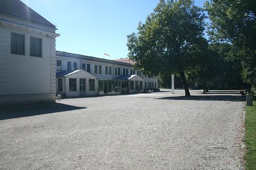 Eingangsbereich - Flugwerft Schleißheim