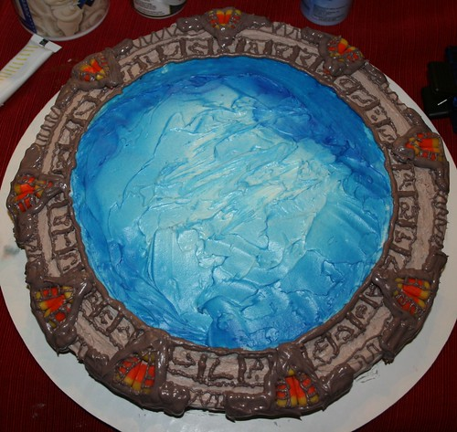Stargate Cake 7