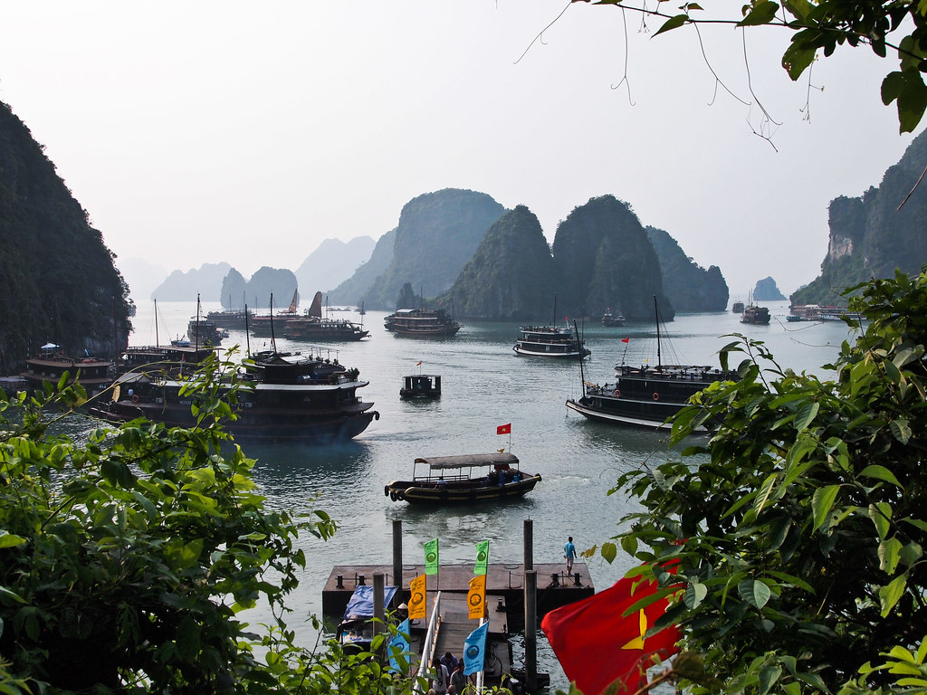 Vistas de Ha Long
