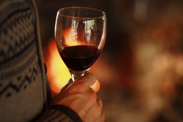 wine fire