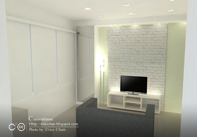 小坪數室內設計-測試Vray 3-01